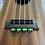 Thumbnail: Green Ukulele Strings Beads Guitar String Tie for Nylon Strings Ukuleles