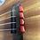 Thumbnail: Red Ukulele Strings Beads Guitar String Tie for Nylon Strings Ukuleles