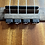 Thumbnail: Black Ukulele Strings Beads Guitar String Tie for Nylon Strings Ukuleles