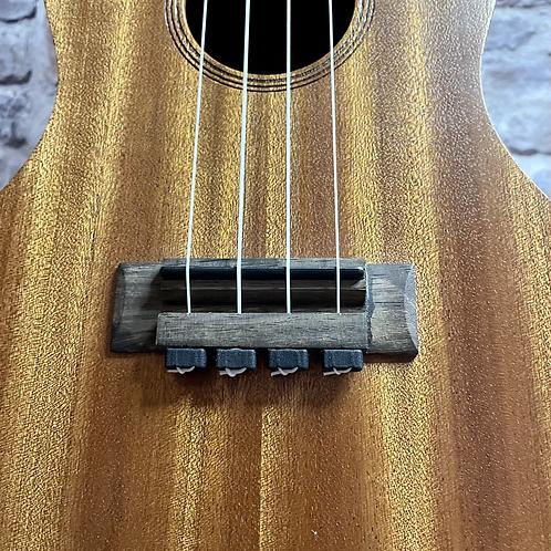 Black Ukulele Strings Beads Guitar String Tie for Nylon Strings Ukuleles
