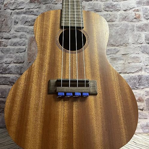 Blue Ukulele Strings Beads Guitar String Tie for Nylon Strings Ukuleles