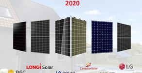 The Most Popular Solar Panels 2020