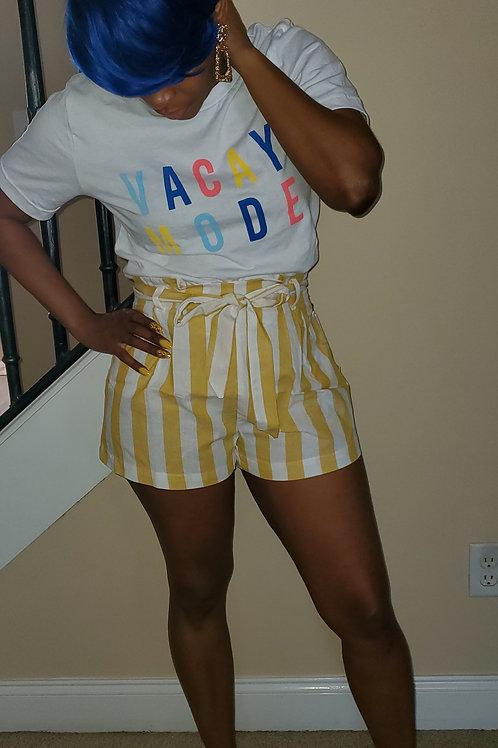 """""""Hannah"""" Shorts (Yellow)"""