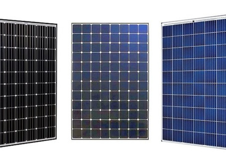 Type of Solar Panels