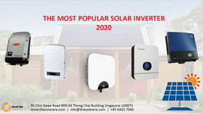 The Most Popular Solar Inverter 2020
