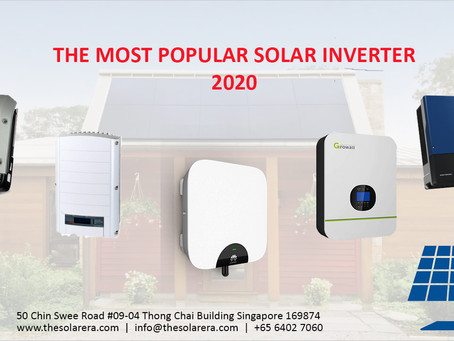 The Most Popular Solar Inverter 2020