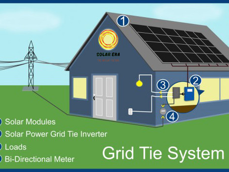 How Does Grid-tied Solar Works?