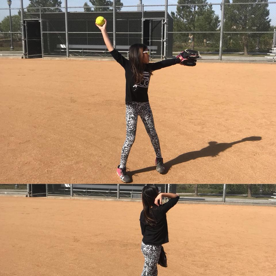 Evelyn Pitching
