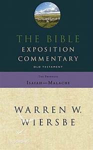 The Bible Exposition Commentary: Job - Song of Solomon (Warren Wiersbe)