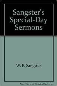 Sangster's Special-Day Sermons (William Sangster)