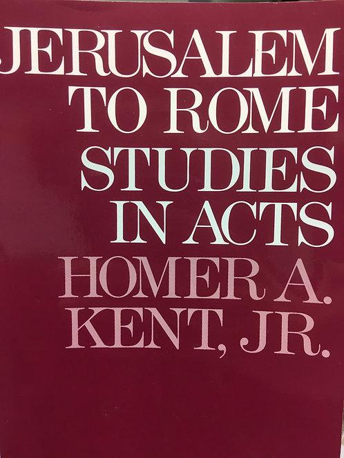 Jerusalem to Rome (Homer Kent Jr.)
