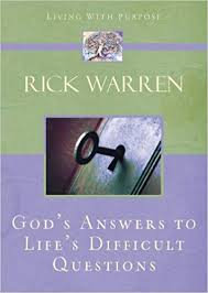 God's Answers to Life's Difficult Questions (Rick Warren)