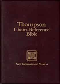 Thompson Chain-Reference Bible (New International Version)