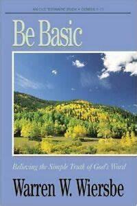 Be Basic (Warren Wiersbe)