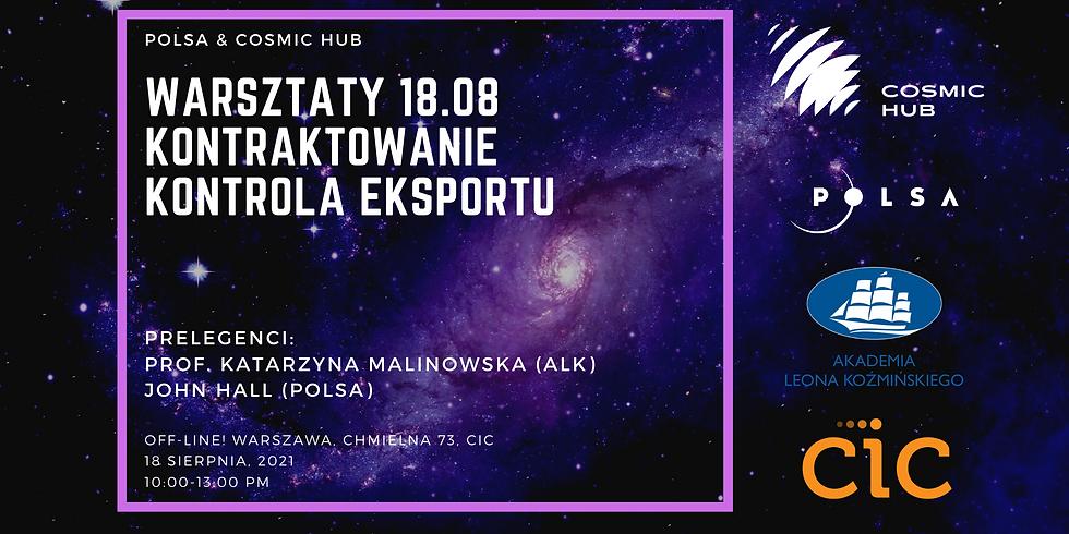 Warsztat POLSA & Cosmic Hub & ALK Kontraktowanie i Kontrola Eksportu