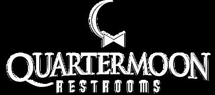 Quartermoon-restrooms-white-logo-w-shado