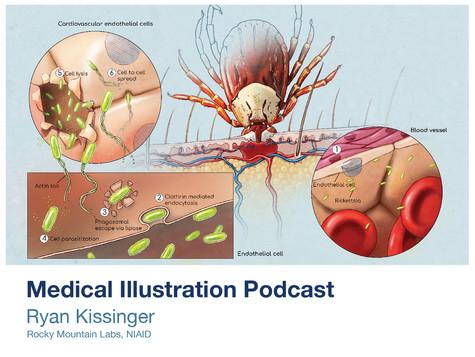 Medical Illustration Podcast - Ryan Kissinger interview