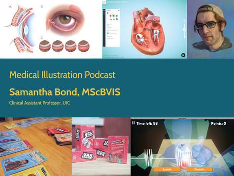 Medical Illustration Podcast - Samantha Bond interview