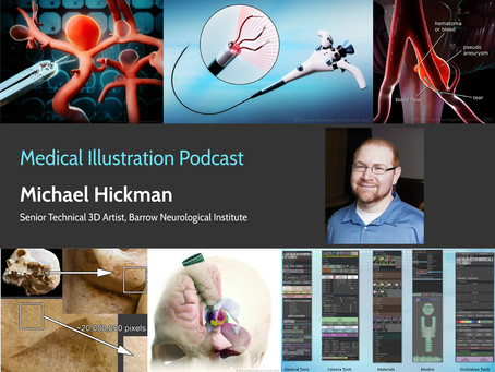 Medical Illustration Podcast - Michael Hickman interview