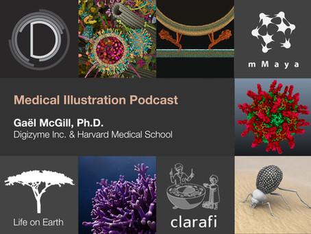 Medical Illustration Podcast - Gaël McGill interview