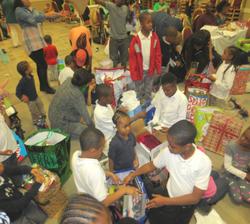 Angel Tree Gifts At Atlanta Mission
