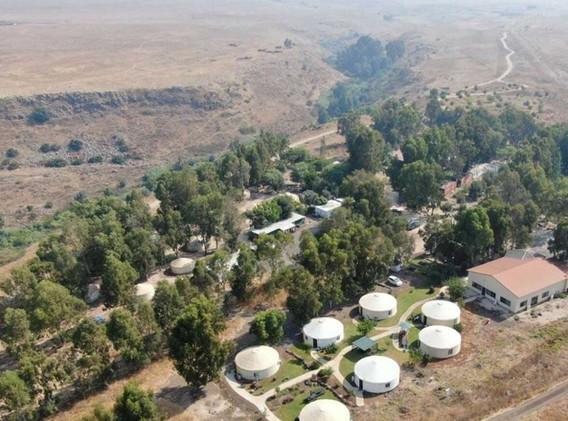 הכפר האינדיאני- יורטים בגולן