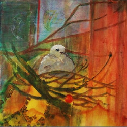 nesting in the cherry tree solange brown