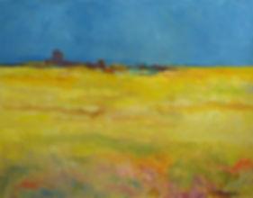 george crawford, oil paining, arizona walk