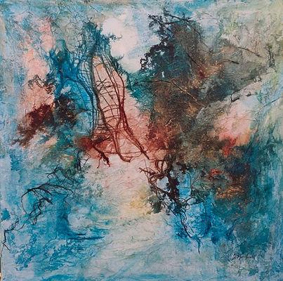 julie northcott, mixed media, light