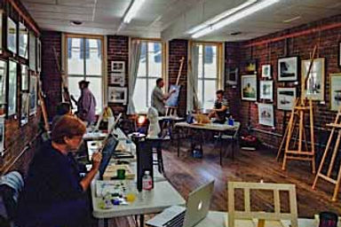 art class, uptown gallery richmond