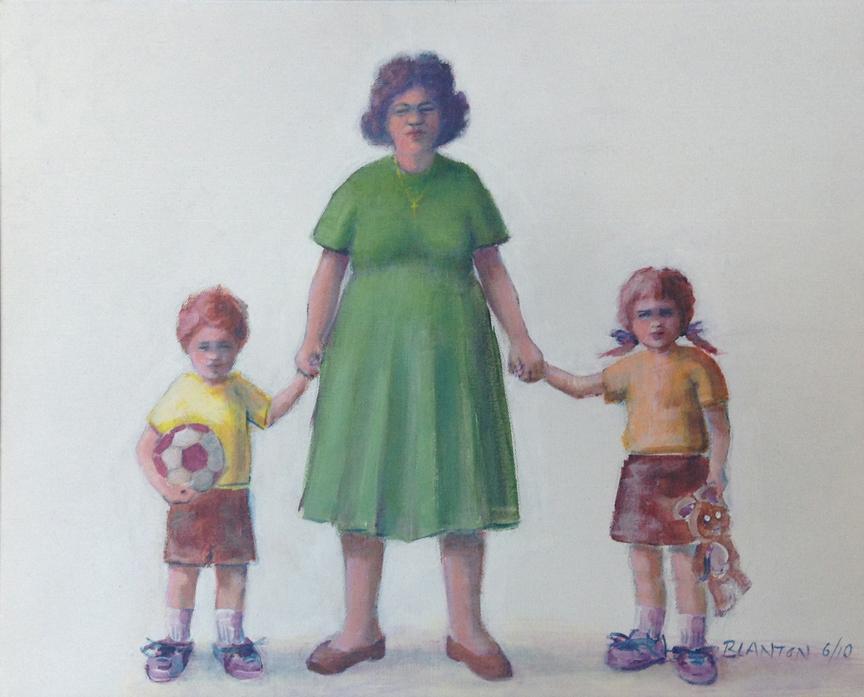 The Good Shepherd, Acrylic, 20x16 .JPG, $250