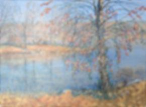 blanton seward, acrylic painting, sunning