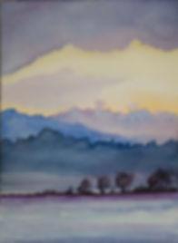 elizabeth drozeski, watercolor, river dreaming