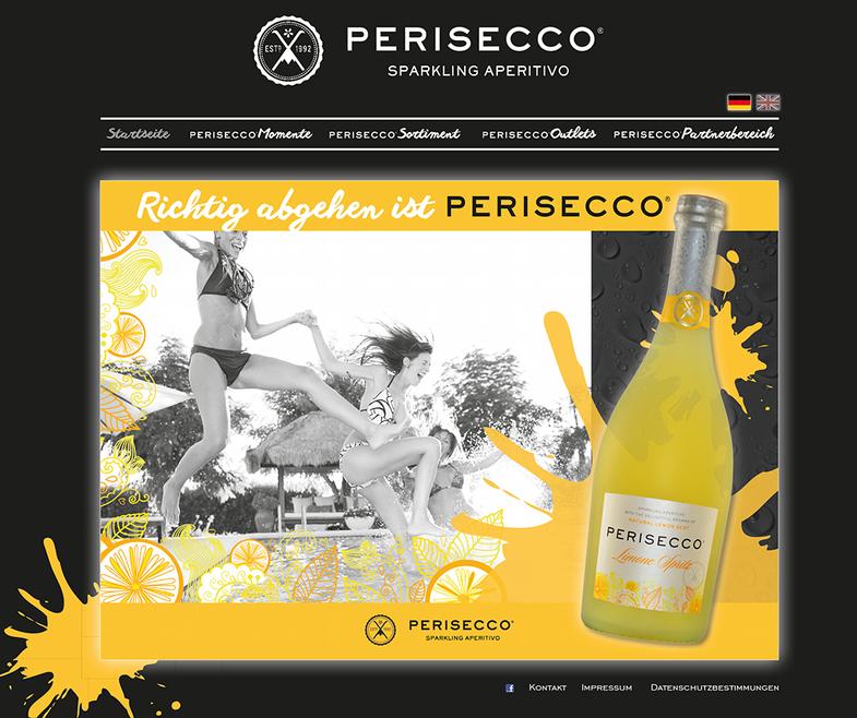 Webseitenentwicklung und Web Design für Perisecco