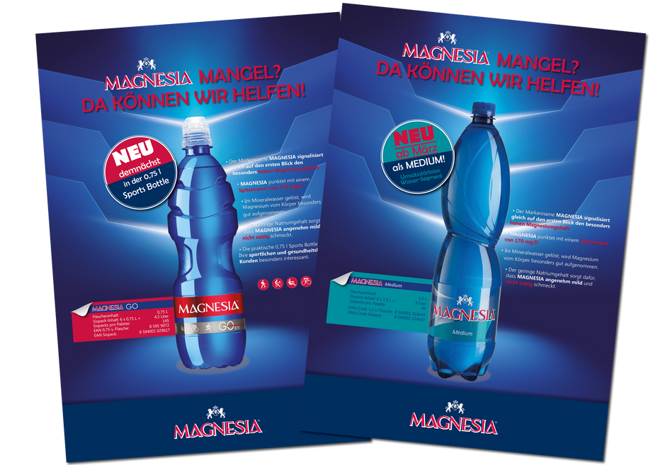 Launch der MAGNESIA Sports Bottle