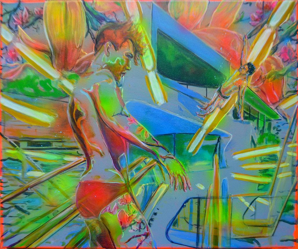 Energizer I_mixed media on canvas_60 x