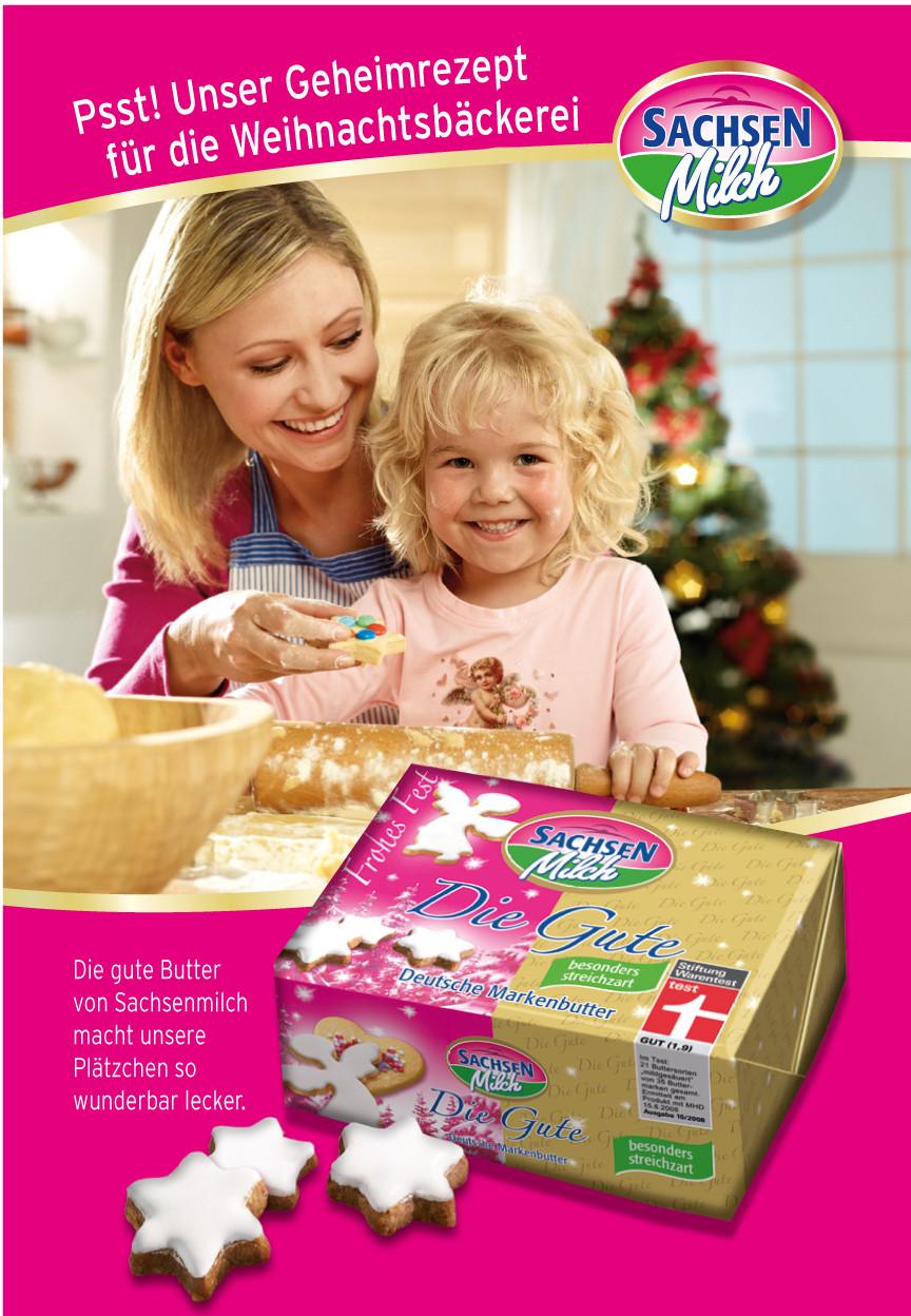 Werbemotiv 'Weihnachtsbäckerei' der Werbeagentur LIEBE DEINE WELT Marketing