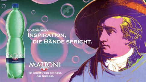 Werbekampagne für Mattoni Mineralwasser