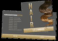 Corporate Design Entwicklung für E.G.S. Hairgoods