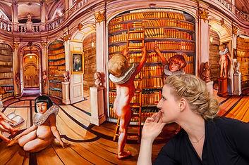 Sala Lieber, Künstlerin der ART Galerie 7, Köln