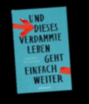 """Buchtitel """"Und dieses verdammte Leben geht weiter"""" by Hansjörg Nessensohn"""