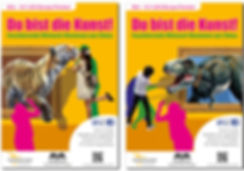 Werbekampagne für DU BIST DIE KUNST