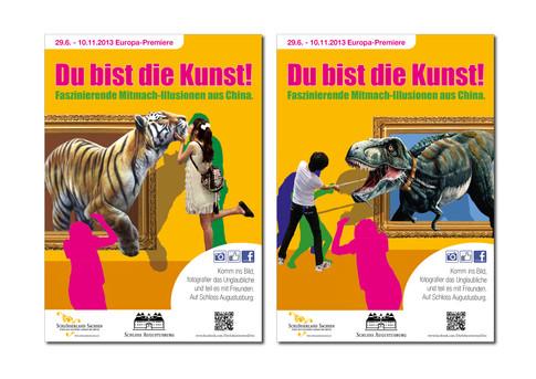 Werbekampagne DU BIST DIE KUNST!