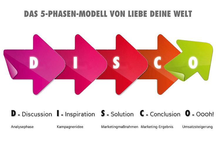Markenbildungs-Modell D.I.S.C.O. der Werbeagentur LDW