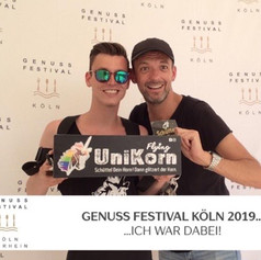 Flying UniKorn @ Genuss Festival Köln