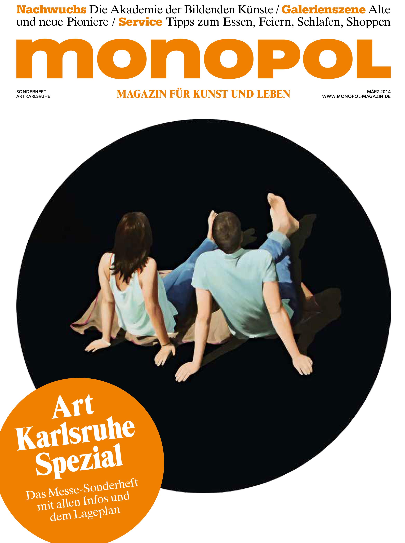Monopol,  Cover Art Karlsruhe, 2014