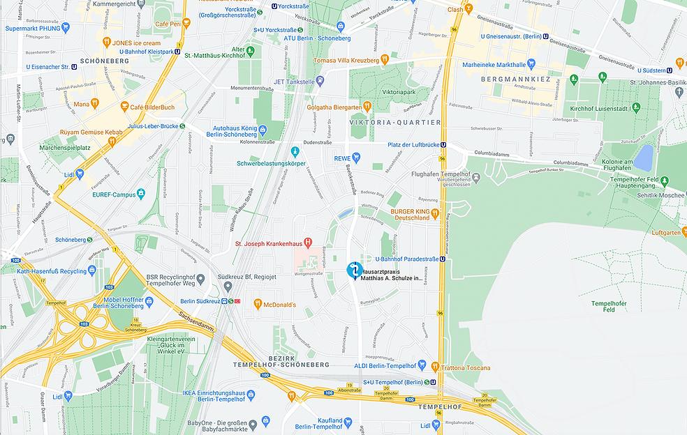 Standort Hausarztpraxis Matthias A. Schu