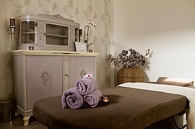 Spa Suite für Rituale und Massagen