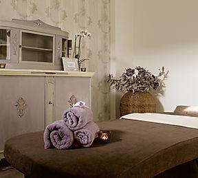 Massage in der Spa Suite