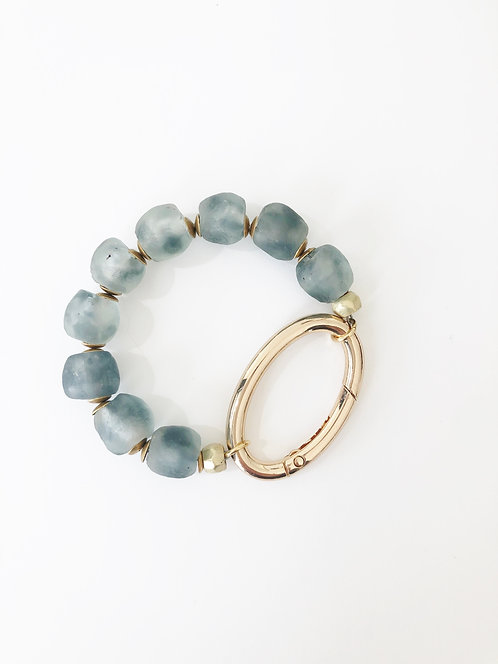 OCEAN Recycled Seaglass Oval Bracelet